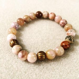 Bamboo Agate Power Bracelet